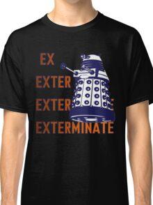 Doctor Who: Ex Exterminate Dalek Classic T-Shirt