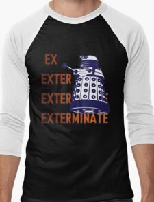 Doctor Who: Ex Exterminate Dalek Men's Baseball ¾ T-Shirt