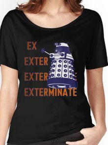 Doctor Who: Ex Exterminate Dalek Women's Relaxed Fit T-Shirt