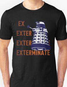 Doctor Who: Ex Exterminate Dalek Unisex T-Shirt