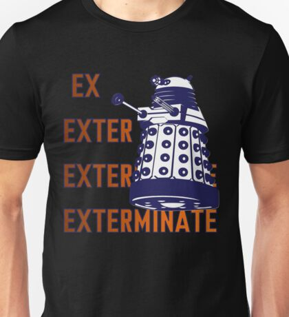 Doctor Who: Ex Exterminate Dalek Unisex T-Shirt