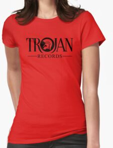 TROJAN RECORDS 12 Womens Fitted T-Shirt