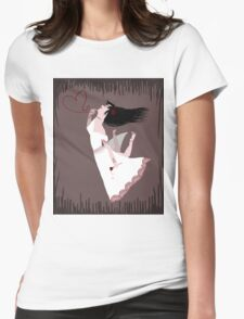 Snow White in Love Womens Fitted T-Shirt