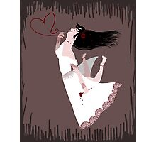 Snow White in Love Photographic Print
