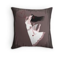 Snow White in Love Throw Pillow