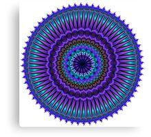 Daily Focus Mandala 6.25.16 Canvas Print