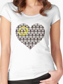 Sherlock Heart Women's Fitted Scoop T-Shirt