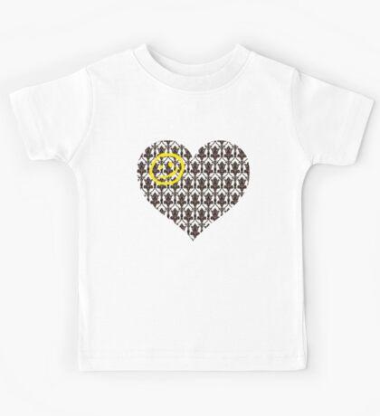 Sherlock Heart Kids Tee