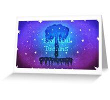 Beautiful Dreams Tree Greeting Card