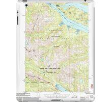 USGS TOPO Map Alaska AK Sitka D-6 359168 2000 63360 iPad Case/Skin
