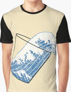 Glass Half Full Event Horizon Graphic T-Shirt