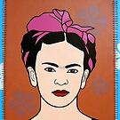 Pop Frida - detail by Simone Maynard