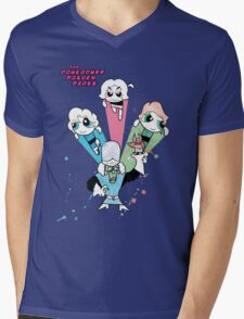 The Powerpuff Golden Girls Mens V-Neck T-Shirt