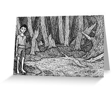 Tieran's Tale Greeting Card