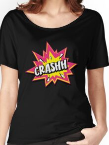 CRASHH Women's Relaxed Fit T-Shirt