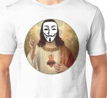 Anonymous Jesus Unisex T-Shirt