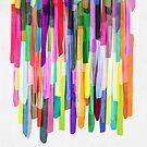 Colorful Stripes 4 by Mareike Böhmer