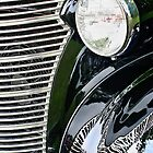 Antique Car Grille by Jacqueline Wilson