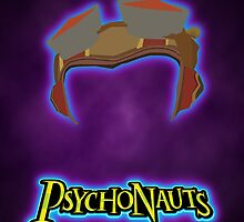 Psychonauts - Minimalist vector poster by Hellmoo