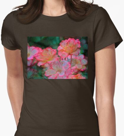 Rose 203 Womens Fitted T-Shirt