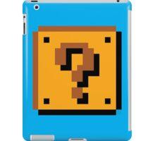 Super Mario Bros. Question Mark Block iPad Case/Skin