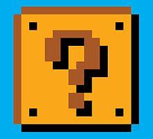 Super Mario Bros. Question Mark Block by rK9nation