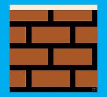 Super Mario Bros. Brick Block by rK9nation