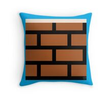 Super Mario Bros. Brick Block Throw Pillow