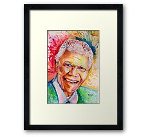 My colors for Mandela Framed Print