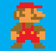 Super Mario Bros. Small Mario by rK9nation