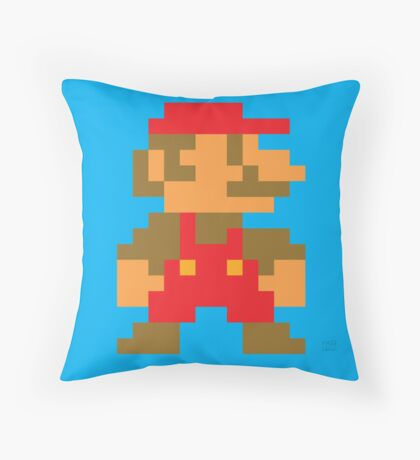 Super Mario Bros. Small Mario Throw Pillow