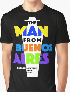 Poster: The Man from Buenos Aires (colour) Graphic T-Shirt