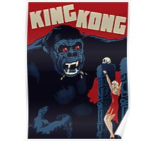 King Kong Classic Poster