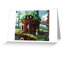 Original - Organic Future Greeting Card