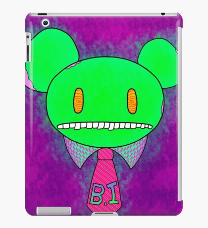Bass Mouse iPad Case/Skin