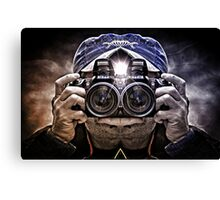 CAMERA HEAD Canvas Print