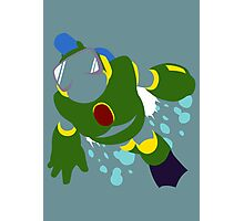 Bubble Man Photographic Print
