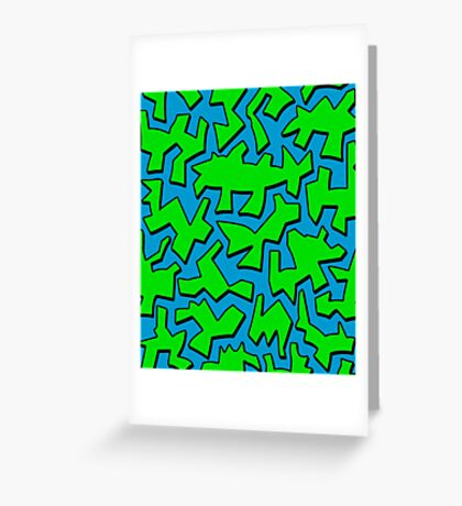 Urban Green  Greeting Card