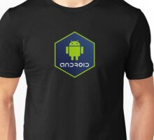 android programming language hexagon sticker Unisex T-Shirt