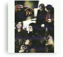 Rumbelle, Once Upon a time Canvas Print