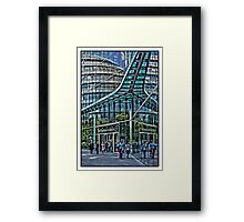 Urban Reflections by Tim Constable Framed Print