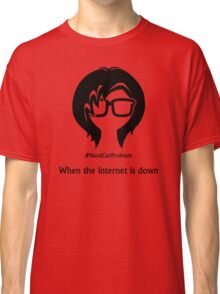 Nerd Girl Problem #10 Classic T-Shirt