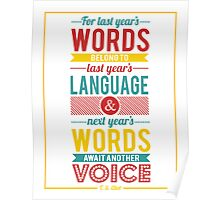 Next Year's Words Poster
