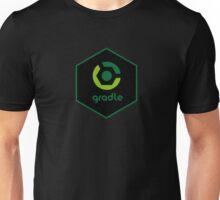 gradle programming language hexagon sticker Unisex T-Shirt