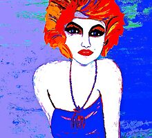 That Beautiful  Red Headed Flapper Girl #3 by Saundra Myles