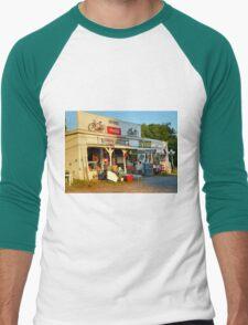 Sunrise On Nippers Grocery Men's Baseball ¾ T-Shirt