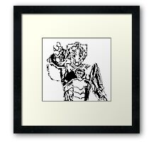 Cyberman Framed Print