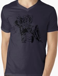 Cyberman Mens V-Neck T-Shirt