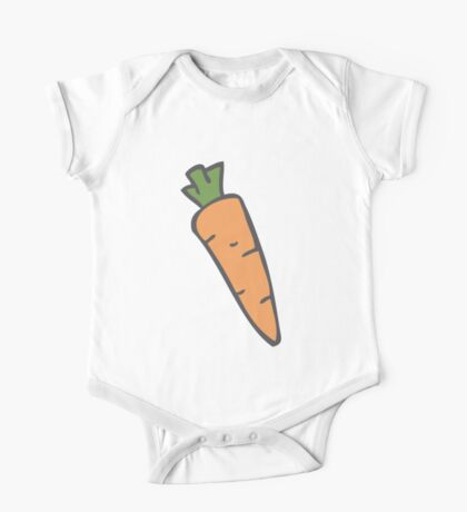 Carrots One Piece - Short Sleeve