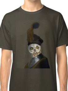 The Owl General - Photographic Composite Classic T-Shirt
